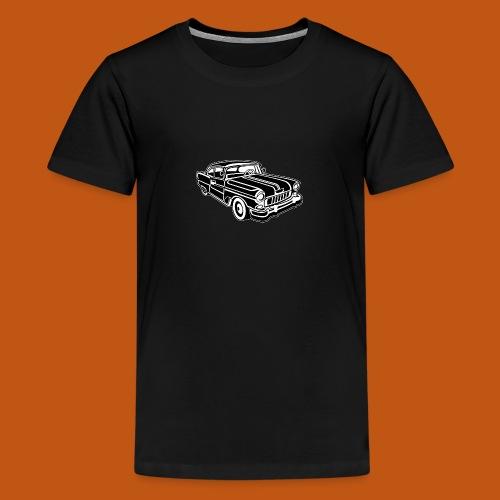 Chevy Cadilac / Muscle Car 02_schwarz weiß - Teenager Premium T-Shirt