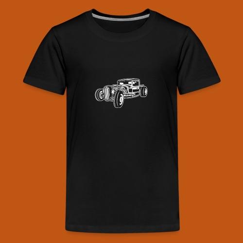 Hot Rod / Rad Rod 06_weiß - Teenager Premium T-Shirt