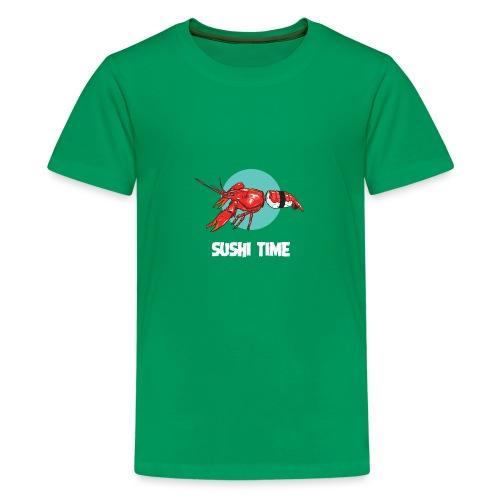 SUSHI TIME-gambero-b - Maglietta Premium per ragazzi