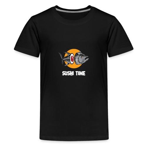SUSHI TIME-tonno-b - Maglietta Premium per ragazzi