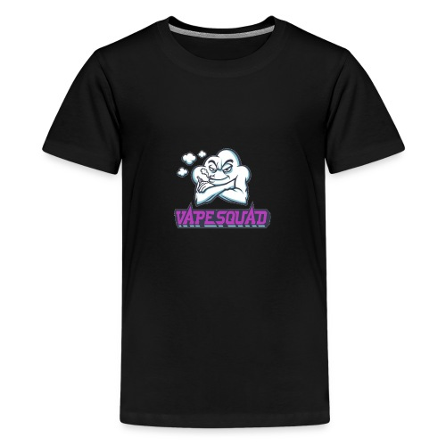 Vape Squad Logo Mixer - Teenage Premium T-Shirt