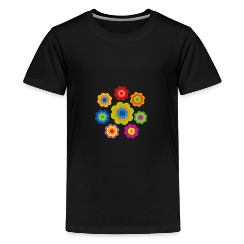 limited edition 4b flower power - Teenager Premium T-Shirt