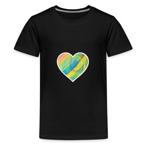Spread the Love - Teenage Premium T-Shirt