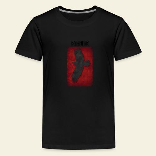 ravnefanen - Teenager premium T-shirt