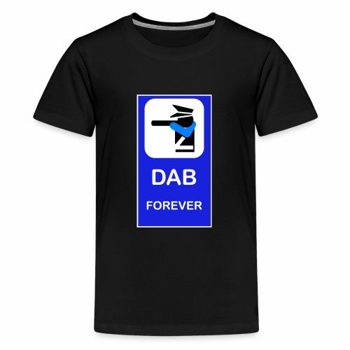DAB POLICE BLUE - Maglietta Premium per ragazzi