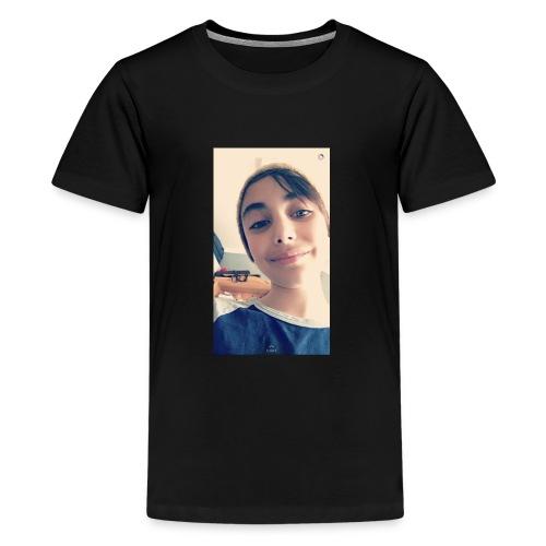 07793944 9729 49DD 81E2 F67C45F04A89 - Premium T-skjorte for tenåringer