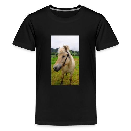 35147075 409346669534499 3387459556966662144 n - Premium T-skjorte for tenåringer