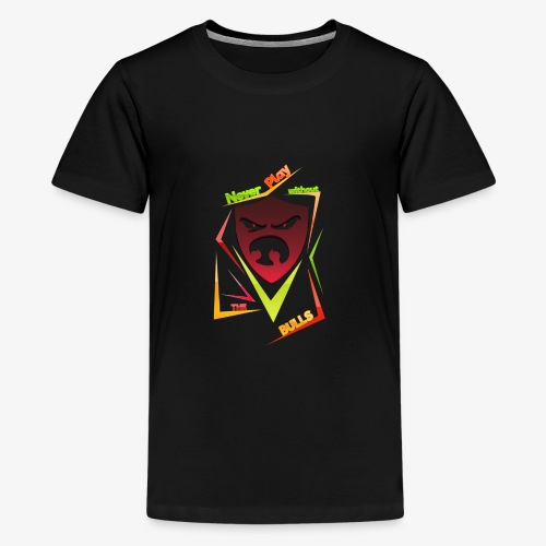 Bulls Shield - Teenager Premium T-Shirt