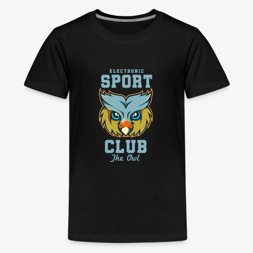 Tête de hibou - T-shirt Premium Ado