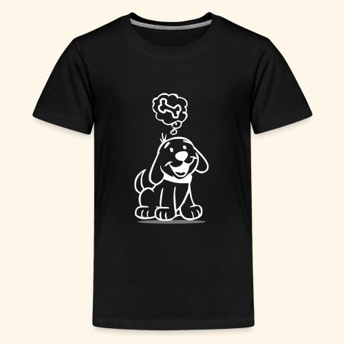 Hund - Teenager Premium T-Shirt