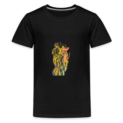 Bananas king - Teenage Premium T-Shirt