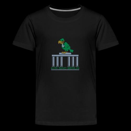 Berlin Geier - Teenager Premium T-Shirt