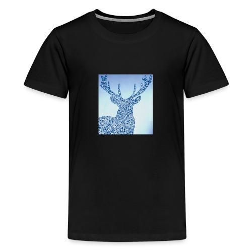 Cerf Chevreuil Chasse - T-shirt Premium Ado