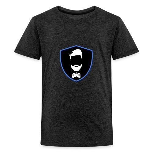 Kalzifertv-logo - Teenager premium T-shirt