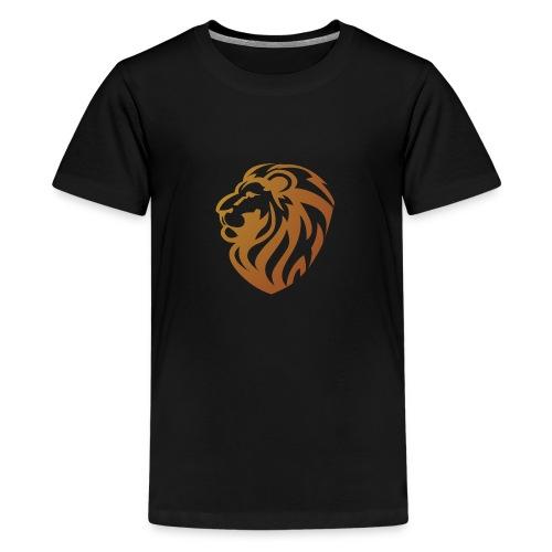 Bronze lion - T-shirt Premium Ado