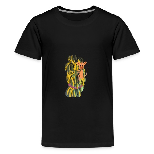 Bananas king - Teenage Premium T-Shirt