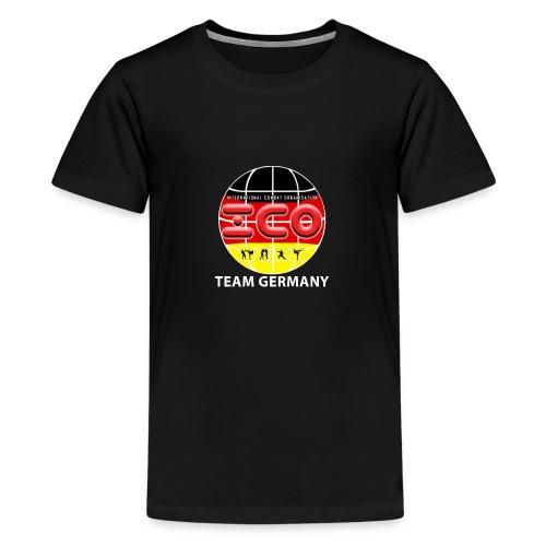 ICO Kickboxing Team Germany - Teenager Premium T-Shirt