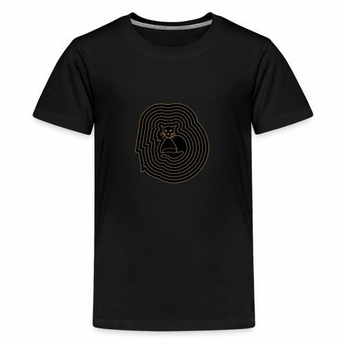 katzen spirale 6 - Teenager Premium T-Shirt