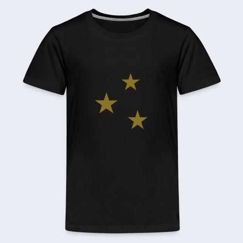 3 Stars - Teenager Premium T-shirt