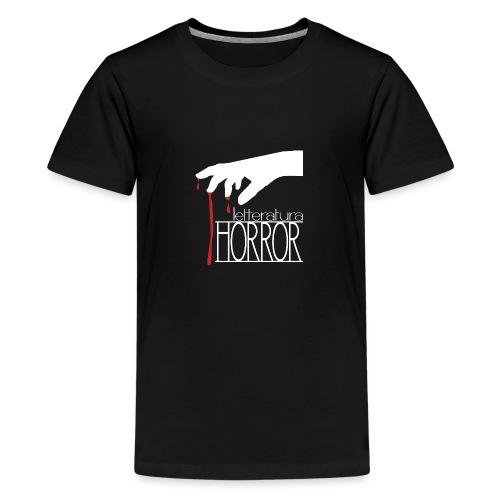 T-Shirt LetteraturaHorror.it donna - Maglietta Premium per ragazzi