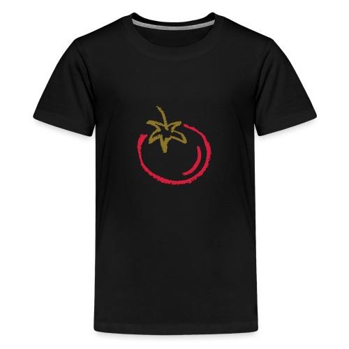 tomato 1000points - Teenage Premium T-Shirt