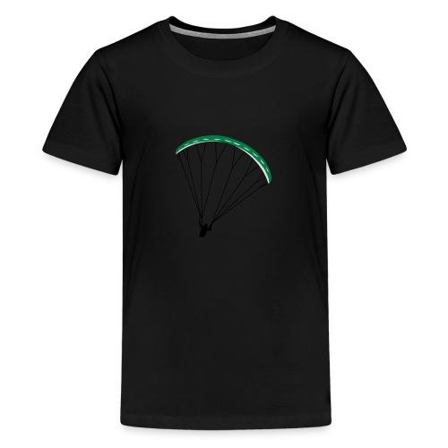 Paraglider Nikita - Teenage Premium T-Shirt