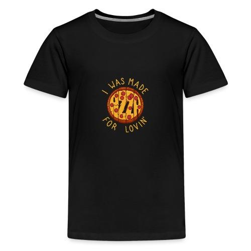PIZZA LOVER - Koszulka młodzieżowa Premium