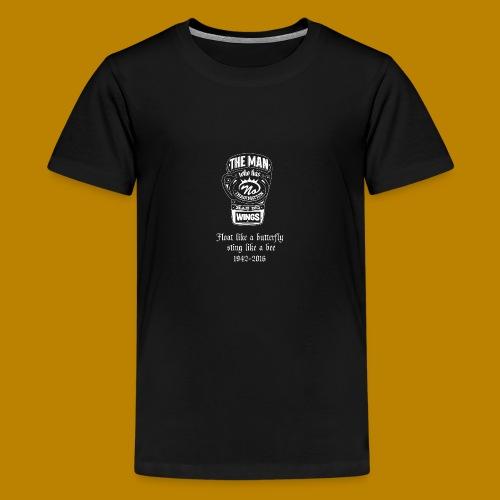 Muhammed Ali Quotes - Teenage Premium T-Shirt
