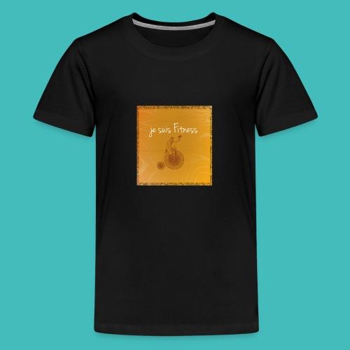Fitness - T-shirt Premium Ado