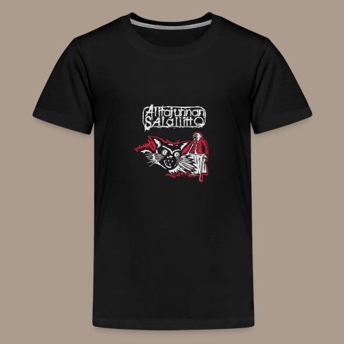 Alitajunnan Salaliitto 2016 - Teinien premium t-paita