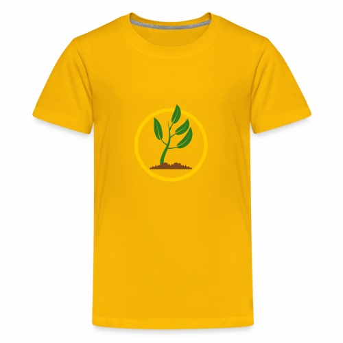 Setzlingemblem - Teenager Premium T-Shirt