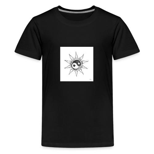 sole yin yang - Maglietta Premium per ragazzi
