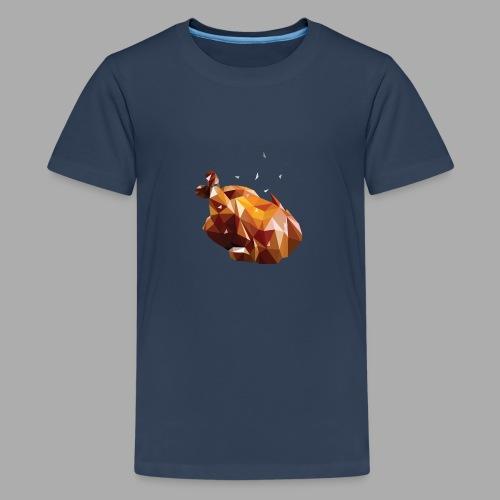 Turkey polyart - Teenage Premium T-Shirt