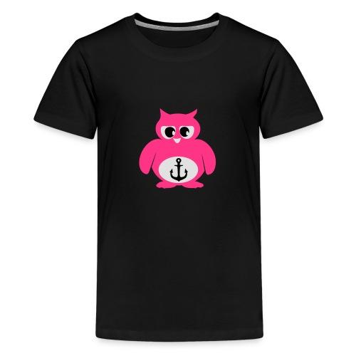 Eule Anker - Teenager Premium T-Shirt