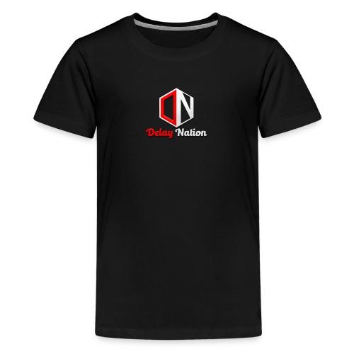 Delay Nation 2018 merch - Teenage Premium T-Shirt