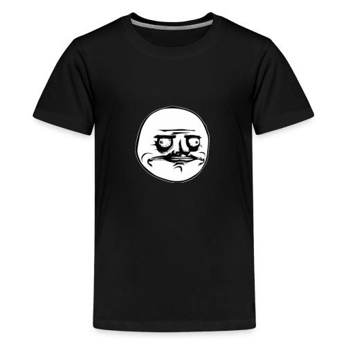 Me gusta face - Koszulka młodzieżowa Premium