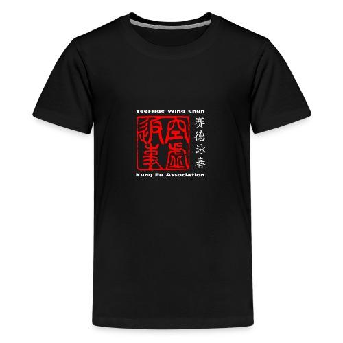 Original design t-shirt based on wing chun - Teenage Premium T-Shirt