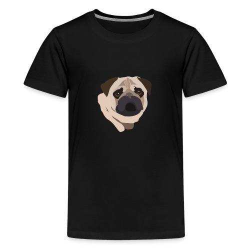 Pug Life - Teenage Premium T-Shirt