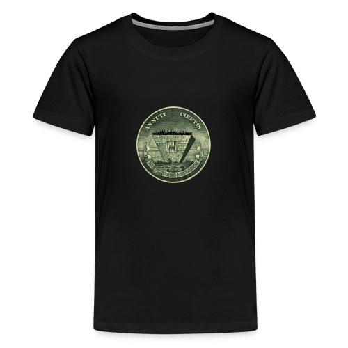 Salvation - a new work by www.RuskiDot.com - Teenage Premium T-Shirt