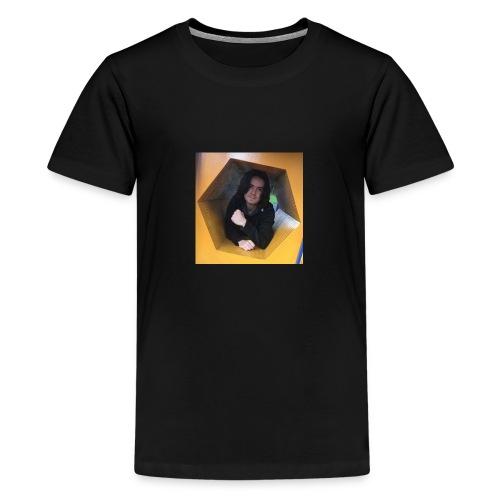 yellow - Teenage Premium T-Shirt
