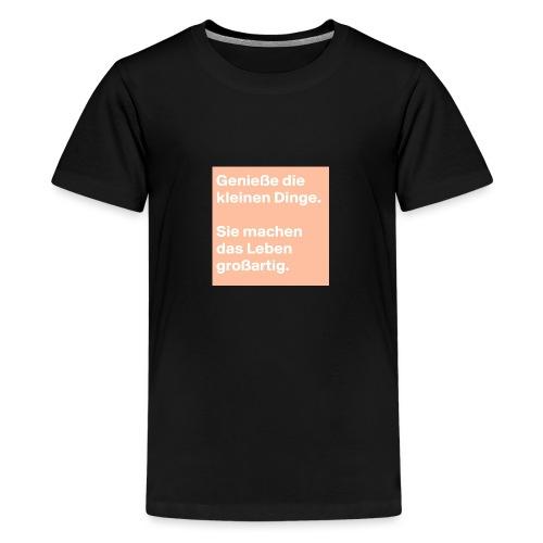 Sprüchekleidung - Teenager Premium T-Shirt