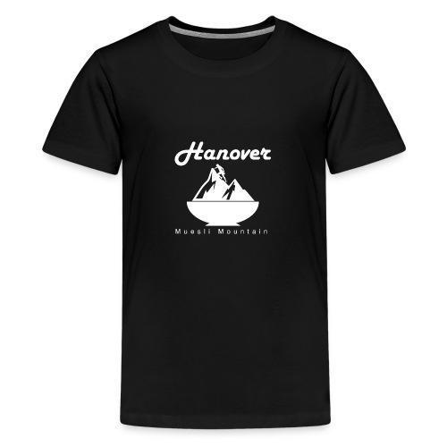 Muesli mountain - Teenage Premium T-Shirt