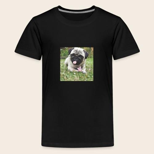 Mops Wiese - Teenager Premium T-Shirt