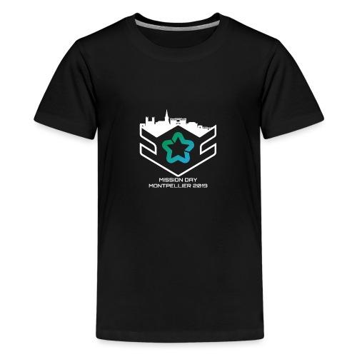 MD white - T-shirt Premium Ado