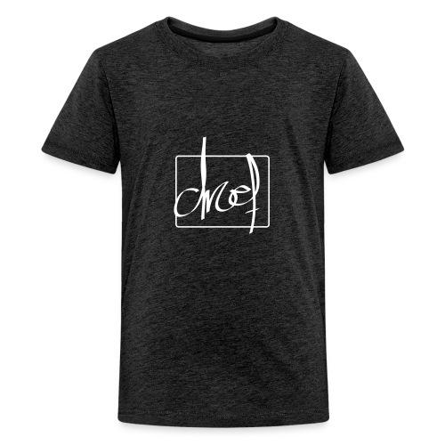 Droef.Gent wit - Teenager Premium T-shirt