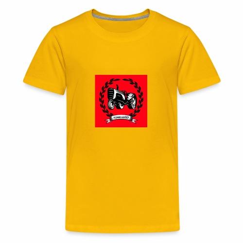 KonradSB czerwony - Koszulka młodzieżowa Premium