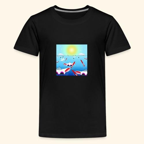 SHEEPLAKECOMIC - Teenager Premium T-Shirt
