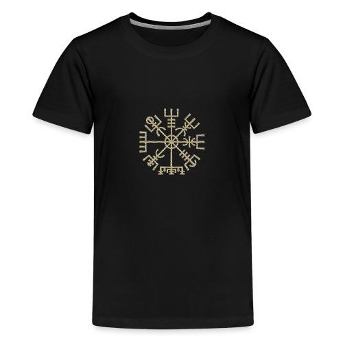 Vegvisir-The-Runic-Viking or - T-shirt Premium Ado