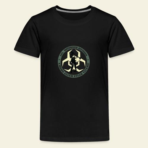 zombieresponseteam logo - Teenager premium T-shirt