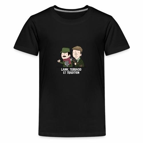 Laink, Terracid et Tradition - T-shirt Premium Ado